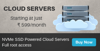 Cloud Servers from ₹ 599/month